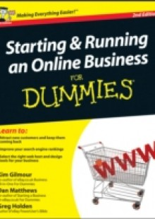 Обложка книги  - Starting and Running an Online Business For Dummies
