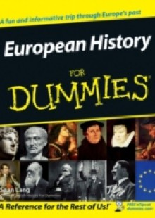 Обложка книги  - European History for Dummies