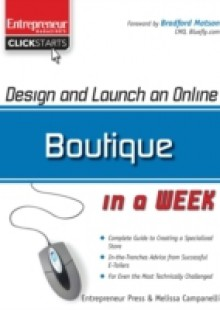 Обложка книги  - Design and Launch an Online Boutique in a Week