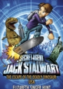 Обложка книги  - Jack Stalwart: The Escape of the Deadly Dinosaur