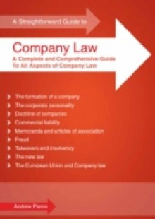 Обложка книги  - Straightforward Guide To Company Law