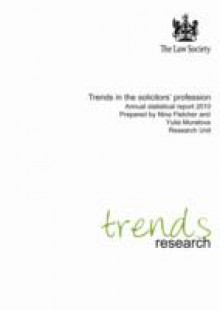 Обложка книги  - Trends in the Solicitors' Profession