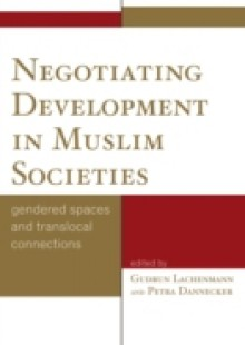 Обложка книги  - Negotiating Development in Muslim Societies