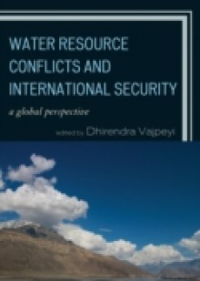 Обложка книги  - Water Resource Conflicts and International Security
