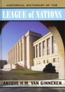 Обложка книги  - Historical Dictionary of the League of Nations
