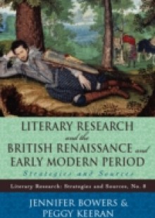 Обложка книги  - Literary Research and the British Renaissance and Early Modern Period