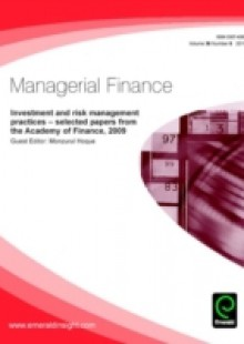 Обложка книги  - Investment and Risk Management Practices – Selected Papers from the Academy of Finance, 2009