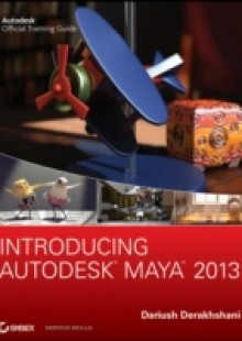 Обложка книги  - Introducing Autodesk Maya 2013