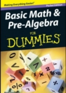 Обложка книги  - Basic Math and Pre-Algebra For Dummies