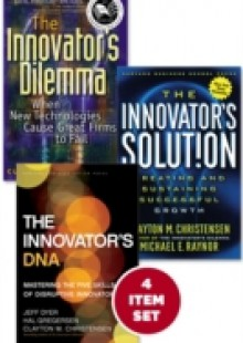 Обложка книги  - Disruptive Innovation: The Christensen Collection (The Innovator's Dilemma, The Innovator's Solution, The Innovator's DNA, and Harvard Business Review article &quote;How Will You Measure Your Life?&quote;) (4 Items)