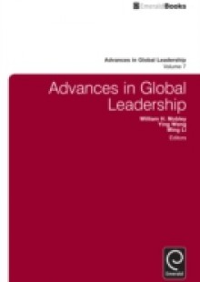 Обложка книги  - Advances in Global Leadership