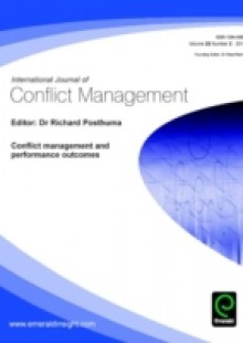 Обложка книги  - Conflict management and performance outcomes