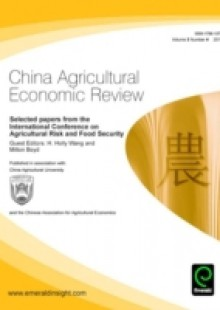 Обложка книги  - Selected Papers from the Agricultural Risk and Food Safety conference