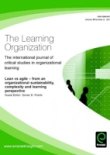 Обложка книги  - Lean vs. Agile – from an organizational sustainability, complexity and learning perspective