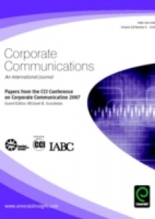 Обложка книги  - Papers from the CCI Conference on Corporate Communication 2007