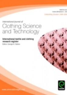 Обложка книги  - International textile and clothing research register