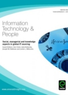 Обложка книги  - Social, Managerial and Knowledge Aspects in Global IT Sourcing