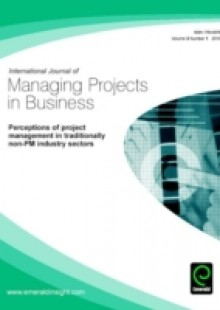 Обложка книги  - Perceptions of Project Management in Traditionally Non-PM Industry Sectors