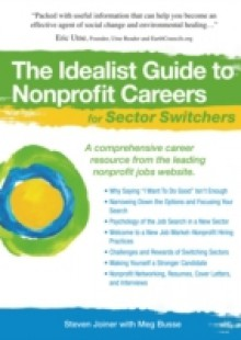 Обложка книги  - Idealist Guide to Nonprofit Careers for Sector Switchers