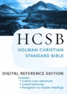 Обложка книги  - Holy Bible: HCSB Digital Reference Edition