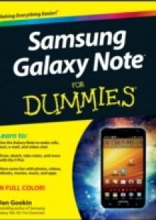 Обложка книги  - Samsung Galaxy Note For Dummies