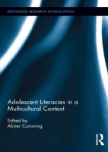 Обложка книги  - Adolescent Literacies in a Multicultural Context