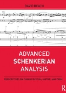 Обложка книги  - Advanced Schenkerian Analysis