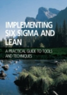 Обложка книги  - Implementing Six Sigma and Lean