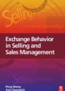 Обложка книги  - Exchange Behavior in Selling and Sales Management