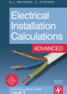 Обложка книги  - Electrical Installation Calculations: Advanced