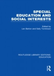 Обложка книги  - Special Education and Social Interests (RLE Edu M)