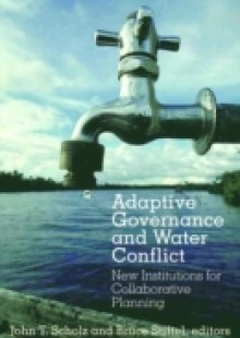 Обложка книги  - Adaptive Governance and Water Conflict