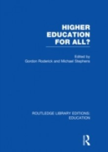 Обложка книги  - Higher Education for All? (RLE Edu G)