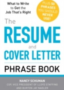 Обложка книги  - Resume and Cover Letter Phrase Book
