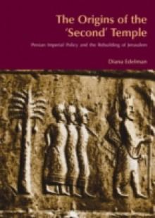 Обложка книги  - Origins of the 'Second' Temple