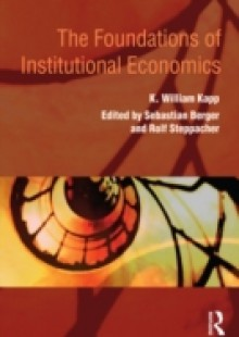 Обложка книги  - Foundations of Institutional Economics
