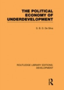 Обложка книги  - Political Economy of Underdevelopment