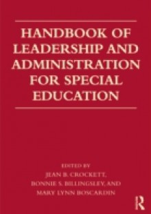 Обложка книги  - Handbook of Leadership and Administration for Special Education