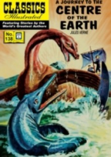 Обложка книги  - Journey to the Center of the Earth (with panel zoom) – Classics Illustrated