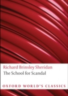 Обложка книги  - School for Scandal and Other Plays
