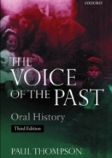 Обложка книги  - Voice of the Past: Oral History