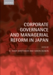 Обложка книги  - Corporate Governance and Managerial Reform in Japan