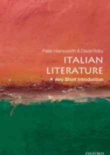 Обложка книги  - Italian Literature: A Very Short Introduction
