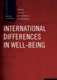 Обложка книги  - International Differences in Well-Being