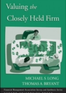 Обложка книги  - Valuing the Closely Held Firm