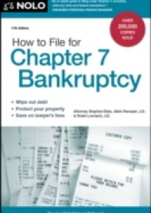 Обложка книги  - How to File for Chapter 7 Bankruptcy