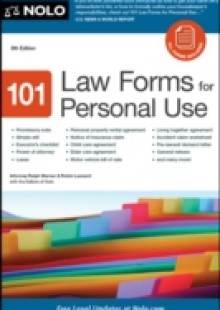 Обложка книги  - 101 Law Forms for Personal Use