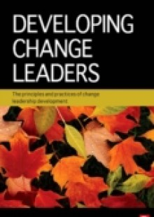 Обложка книги  - Developing Change Leaders