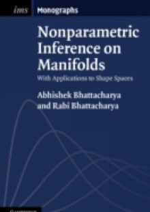 Обложка книги  - Nonparametric Inference on Manifolds