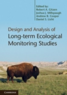 Обложка книги  - Design and Analysis of Long-term Ecological Monitoring Studies